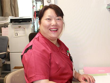 緩和ケア認定看護師  水田 綾子