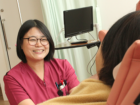 がん化学療法看護認定看護師 村上 優子