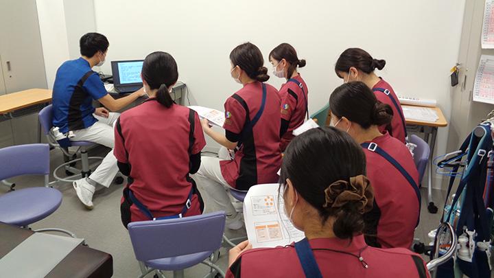 令和2年12月 病棟看護師向けに勉強会を実施しました。