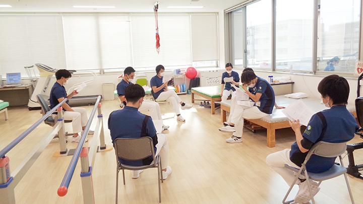 令和2年3月 田代PTより「IN BODY」を用いたがんリハについての勉強会を行いました。